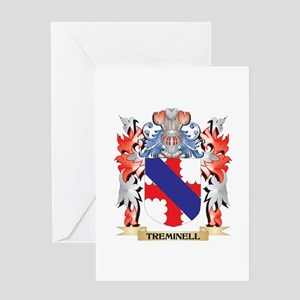 Treminell Coat of Arms - Family Cre Greeting Cards