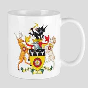 Derbyshire Coat of Arms Mug