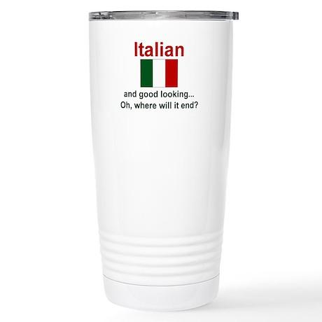 Good Looking Italian Stainless Steel Travel Mug