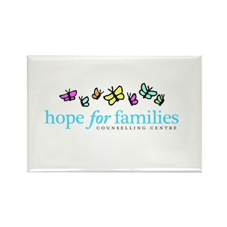 Hope for Families Rectangle Magnet