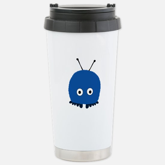 Blue Wuppie Stainless Steel Travel Mug