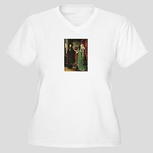 Van Eyck Women's Plus Size V-Neck T-Shirt