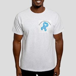 Prostate Heart Survivor Light T-Shirt