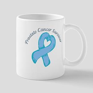Prostate Heart Survivor Mug