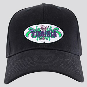 Virginia's Purple-Green Butterfly Name Black Cap