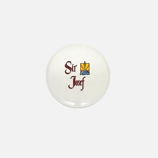 Sir Josef Mini Button