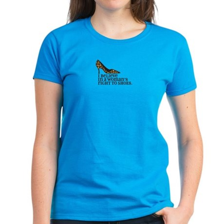 right to shoes Women's Dark T-Shirt