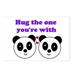 HUG THE ONE YOU'RE WITH Postcards (Package of 8)