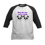 HUG THE ONE YOU'RE WITH Kids Baseball Jersey