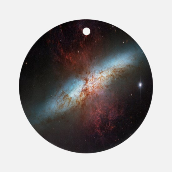 Starburst Galaxy Ornament (Round)