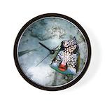 Fish Kiss Clock Wall Clock