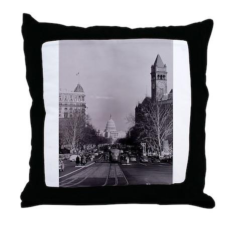 Capitol View Throw Pillow