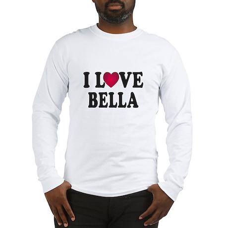 I L<3VE Bella Long Sleeve T-Shirt