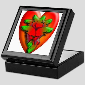 Y HEART LEAP Keepsake Box