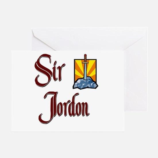 Sir Jordon Greeting Card