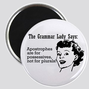 Apostrophes are for Possessiv Magnet