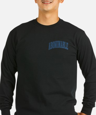 Abominable Nickname Collegiate Style T