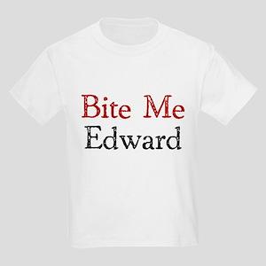 Bite Me Edward Kids Light T-Shirt