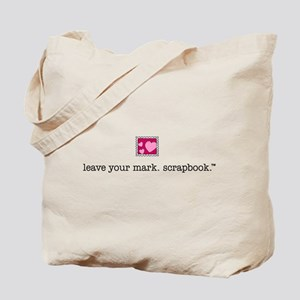 leave your mark. scrapbook. - Tote Bag