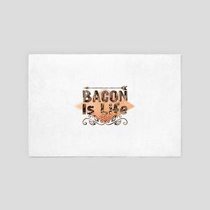 Bacon Is Life 4' x 6' Rug