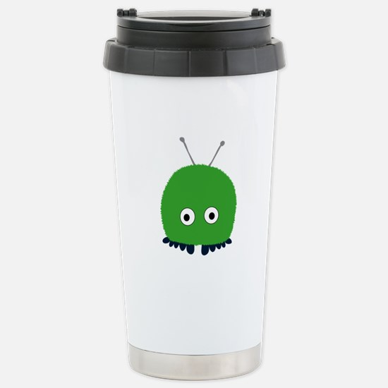 Green Wuppie Stainless Steel Travel Mug