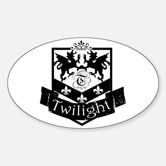 Twilight Symbol Oval Decal
