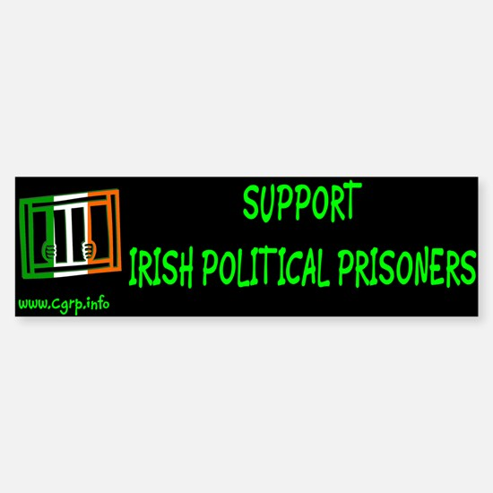 Suport Irish Political Prisoners Bumper Bumper Bumper Sticker