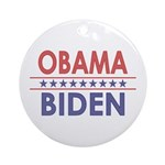 Obama-Biden Ornament (Round)