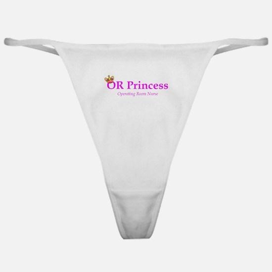 OR Princess RN Classic Thong