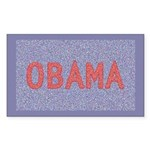 Obama Rectangle Sticker