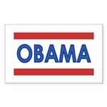Obama Rectangle Sticker 50 pk)