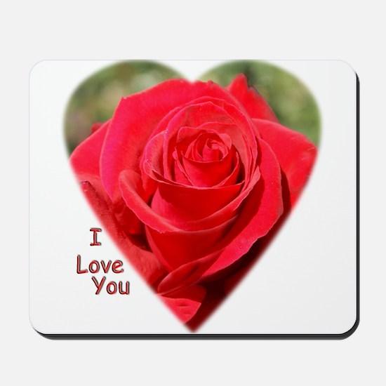 Rose Love Mousepad
