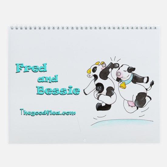 Fred & Bessie's Wall Calendar