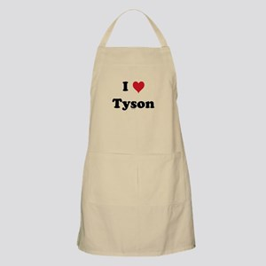 I love Tyson BBQ Apron