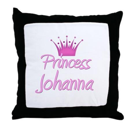 Princess Johanna Throw Pillow