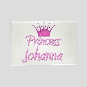 Princess Johanna Rectangle Magnet