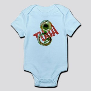 Grunge Sousaphone Infant Bodysuit