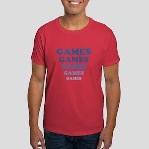 GAMES GAMES GAMES Dark T-Shirt