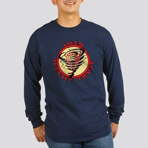 Storm Tornado Chaser Long Sleeve Dark T-Shirt