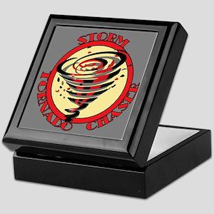 Storm Tornado Chaser Keepsake Box