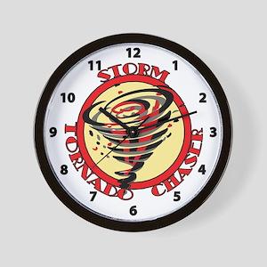 Storm Tornado Chaser Wall Clock
