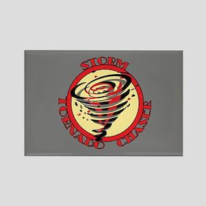 Storm Tornado Chaser Rectangle Magnet