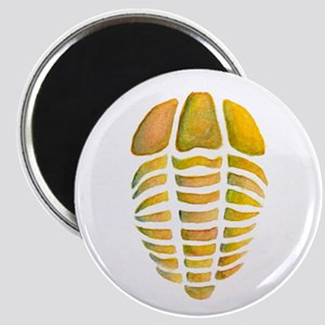 Yellow Trilobite Magnet