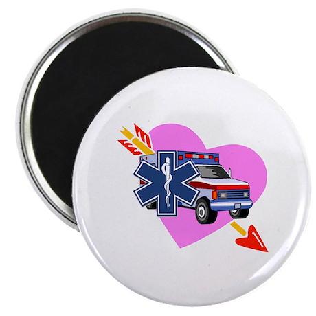 "EMS Care Heart 2.25"" Magnet (100 pack)"