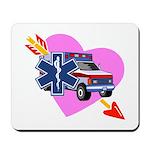 EMS Care Heart Mousepad