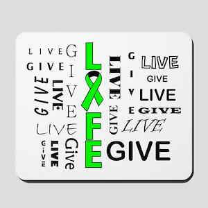 Live Give Mousepad
