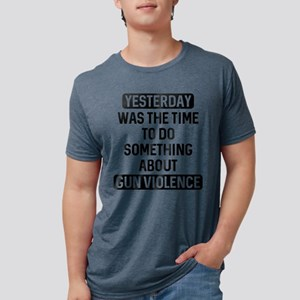 End Gun Violence Now White T-Shirt