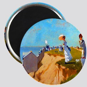 Winslow Homer Long Branch New Jersey Magnets