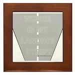*New Design* Where's My Landi Framed Tile