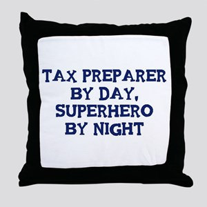Tax Preparer by day Throw Pillow